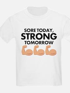 Sore Today Arm Emoji T-Shirt