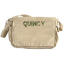 Quincy, Vintage Camo, Messenger Bag