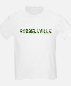 Russellville, Vintage Camo, T-Shirt
