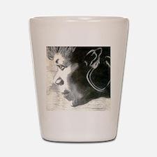Wilma Rudolph Shot Glass