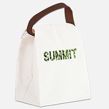 Summit, Vintage Camo, Canvas Lunch Bag