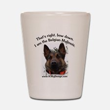 Cute K 9 Shot Glass