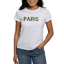 Paris, Vintage Camo, Tee