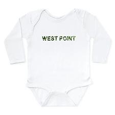 West Point, Vintage Camo, Long Sleeve Infant Bodys