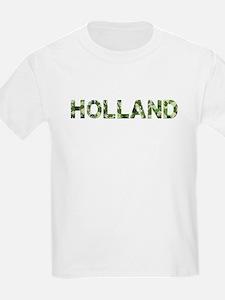 Holland, Vintage Camo, T-Shirt