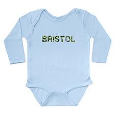 Bristol, Vintage Camo, Long Sleeve Infant Bodysuit