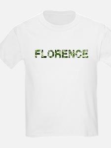 Florence, Vintage Camo, T-Shirt