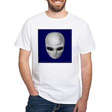 Alien Stare (Square Image) T-Shirt