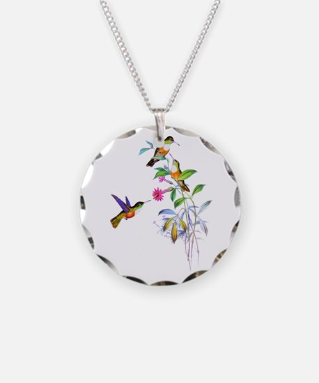 Hummingbirds Necklace