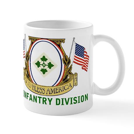 4th INFANTRY DIVISION Mugs