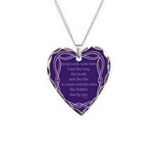 Bible Verse John 14 6 Necklace