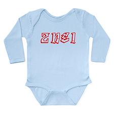 2NE1 de 2000 Long Sleeve Infant Bodysuit