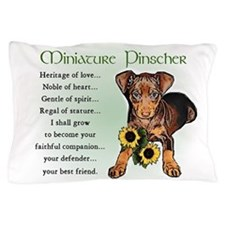 Miniature Pinscher Pillow Case