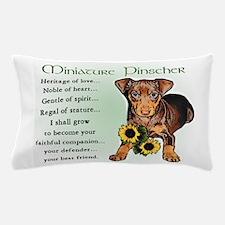 Miniature Pinscher Pillow Case
