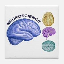Neuroscience in All Directions Tile Coaster