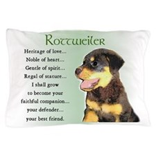 Rottweiler Puppy Pillow Case