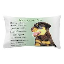 Rottweiler Puppy Pillow Case