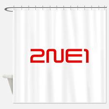 2NE1 logo 3000-500 Shower Curtain