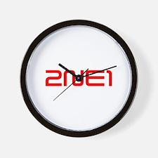 2NE1 logo 3000-500 Wall Clock