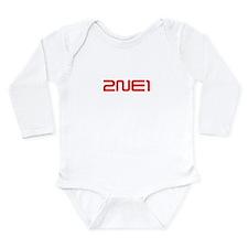2NE1 logo 3000-500 Long Sleeve Infant Bodysuit