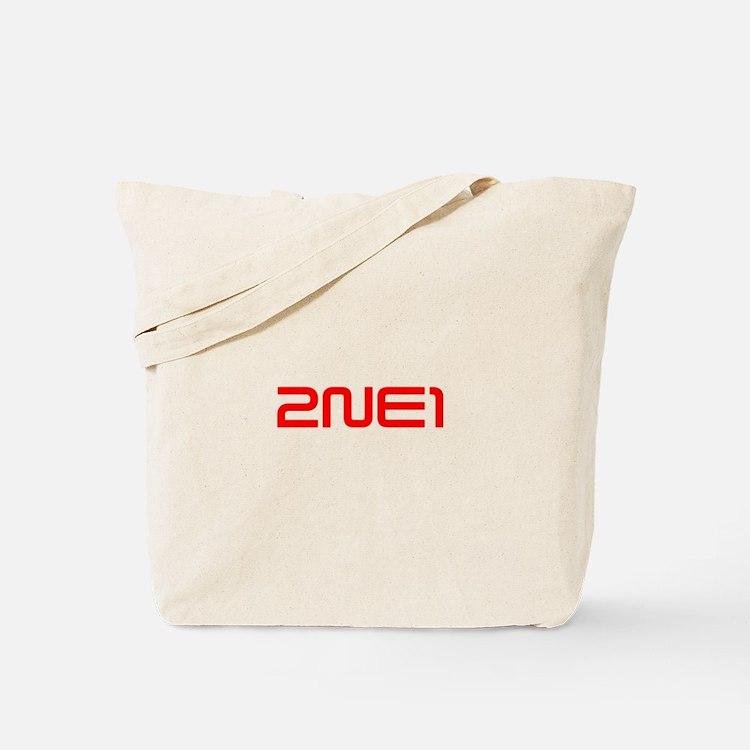 2NE1 logo 3000-500 Tote Bag