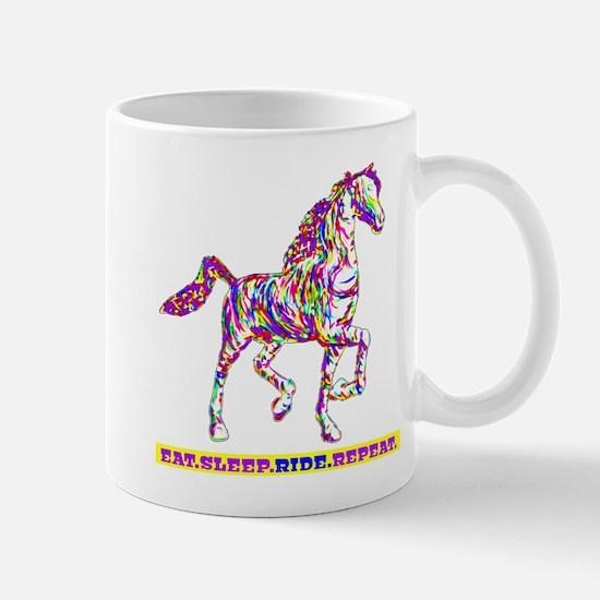 Eat. Sleep. Ride. Repeat. Mug
