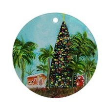 100 Foot Christmas Tree Ornament (Round)