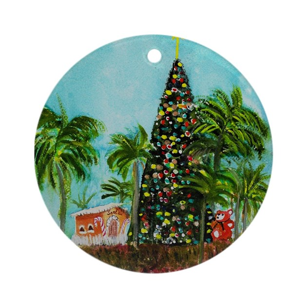 100 Foot Christmas Tree Ornament (Round) by ...