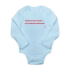 cigarette Long Sleeve Infant Bodysuit