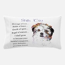 Shih Tzu Puppy Pillow Case