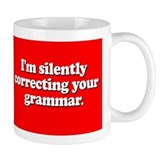 Grammar mug Coffee Mugs