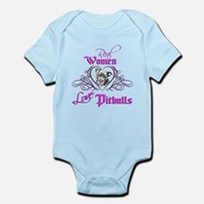 Real Women Love Pitbulls Infant Bodysuit