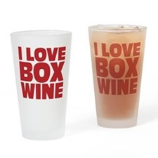 I love box wine Drinking Glass