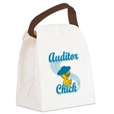 Audit Chick #3 Canvas Lunch Bag