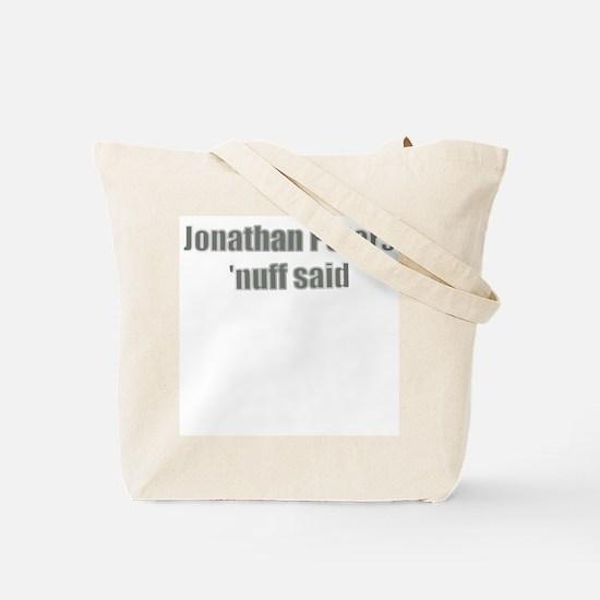 America's Best DJ Jonathan Pe Tote Bag