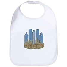 Houston Skyline NewWave Beachy Bib