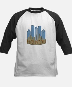 Houston Skyline NewWave Beachy Tee