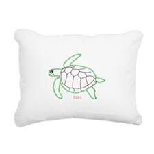 ArtinJoy Sea Turtle Rectangular Canvas Pillow