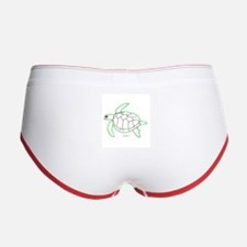 ArtinJoy Sea Turtle Women's Boy Brief