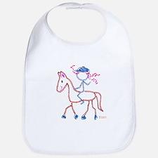 Horseback Rider - ArtinJoy Bib
