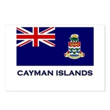The Cayman Islands Flag Gear Postcards (Package of