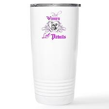 Real Women Love Pitbulls Travel Mug