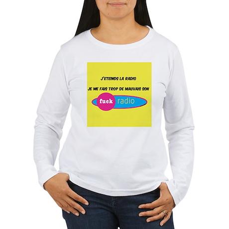 radio Women's Long Sleeve T-Shirt