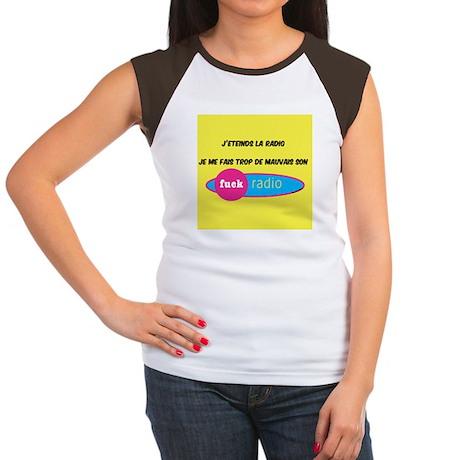 radio Women's Cap Sleeve T-Shirt