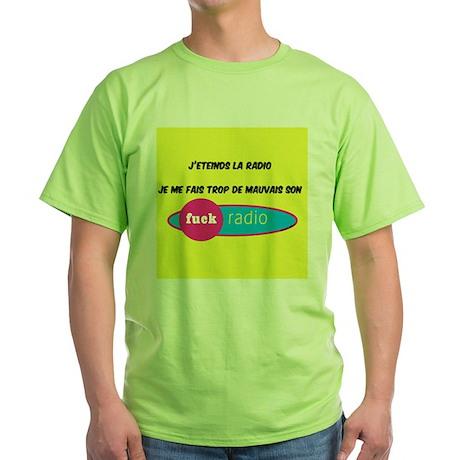 radio Green T-Shirt