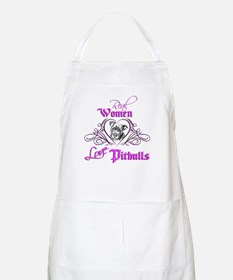 Real Women Love Pitbulls Apron