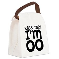 kiss me im older Canvas Lunch Bag