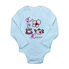 Tea Lover Long Sleeve Infant Bodysuit