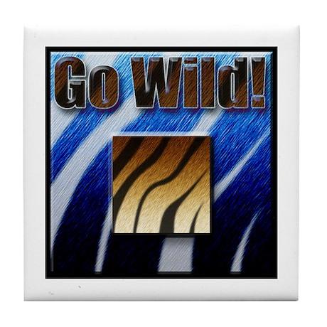 GO WILD! Tile Coaster