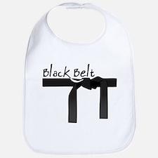 Black Belt Bib